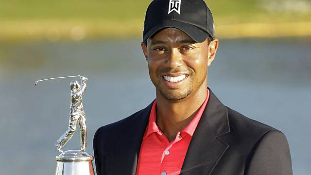Auf einen solchen Moment musste Tiger Woods lange warten