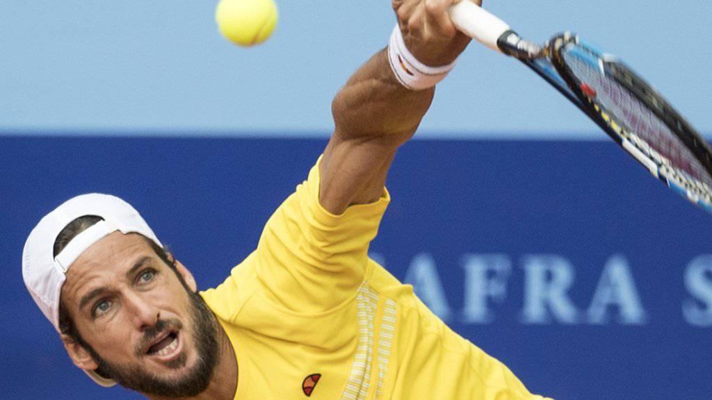 Auf dem Weg nach vorne: Feliciano Lopez steht zum zweiten Mal im Final des Swiss Open in Gstaad