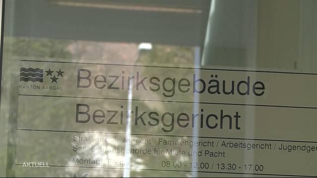 Prozess gegen Randale einer Party in Zofingen