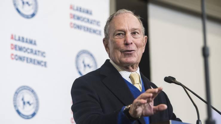 Aufholjagd: Michael Bloomberg liegt in Umfragen zur demokratischen Präsidentschaftskandidatur auf dem dritten Platz. (Archivbild)