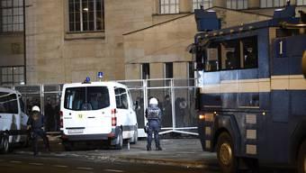 Zwei Verletzte bei unbewilligter Demo in Zürich