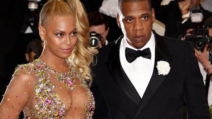 """Beyoncé Knowles und ihr Mann Jay Z wissen, wie man das Geschäft ankurbelt: erst Trennungsgerüchte streuen und sie dann mit einem gemeinsamen Projekt wiederlegen. Das """"Baby"""", das die beiden zusammenhält, soll ein gemeinsames Album sein, das demnächst erscheint. (Archivbild)"""