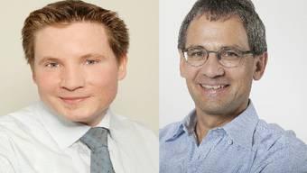 Jean-Pierre Leutwyler (links) und Sander Mallien