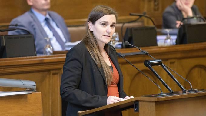 Ehemalige Fraktionspräsidentin, ehemalige Grossrätin, jetzt Kandidatin für den Regierungsrat: Beatriz Greuter.