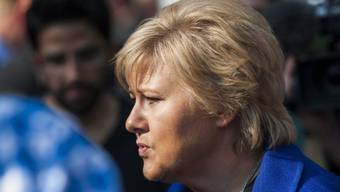 Wird die konservative Regierung anführen: Høyre-Chefin Erna Solberg