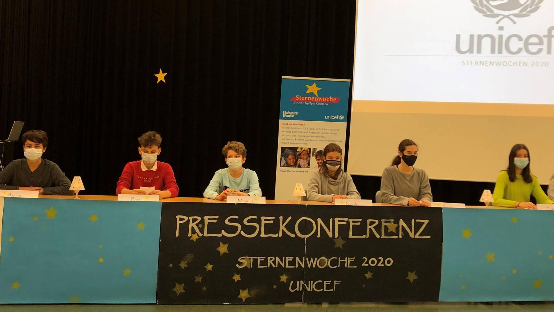Pressekonferenz zur Sternenwoche 2020 in Langenthal