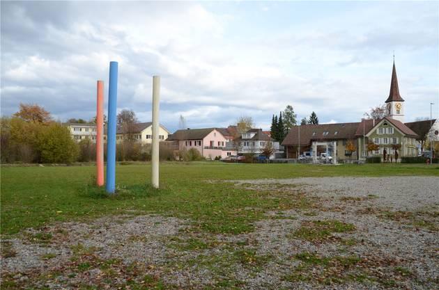 Kölliken: Seit vielen Jahren möchte man den brachliegenden Dorfplatz nutzen.