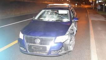 Nach ersten Aussagen verlor die 73-jährige Lenkerin nach dem Spitalhoftunnel bei Biberist offenbar infolge eines Sekundenschlafs die Kontrolle über ihr Fahrzeug.