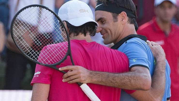 2017 in Stuttgart feiert Tommy Haas gegen Roger Federer seinen letzten Sieg auf der ATP-Tour.
