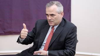 Thomas Gottstein am Hauptsitz der Credit Suisse in Zürich: Er leitet seit Herbst das Schweizer Geschäft der Grossbank.