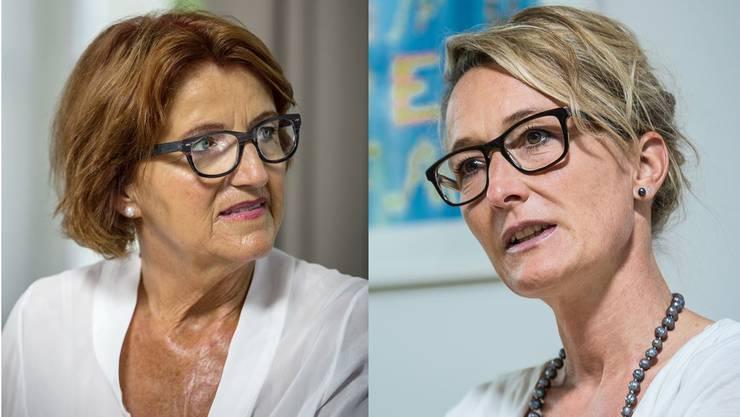 Unabgesprochene Tarifanpassung zulasten der Gemeinden: Die Präsidentin der Gemeindeammänner, Renate Gautschy, ist über Regierungsrätin Susanne Hochuli verärgert.
