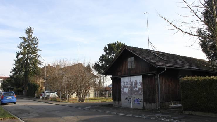 So sah das Grundstück für den Bau der Freikirche «Gemeinde für Christus» in Grenchen aus