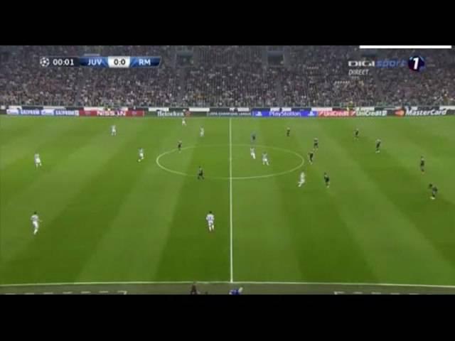 Alvaro Morata erzielt das 1:0 für Juventus