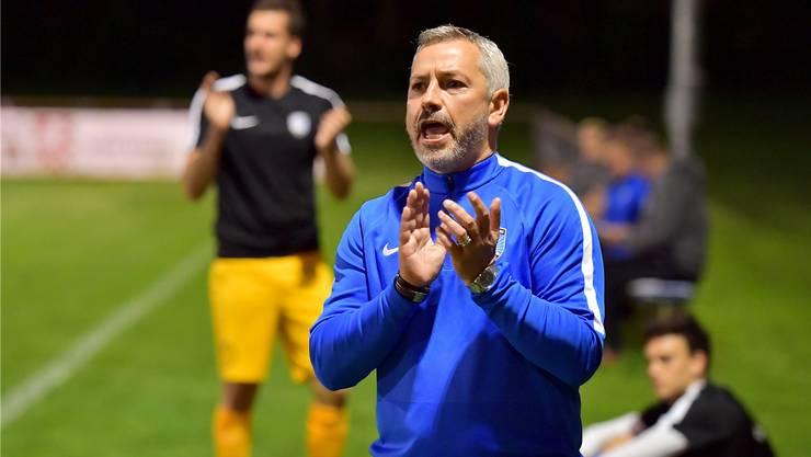 Emilio Munera coachte den FC Lenzburg zuletzt an die Tabellenspitze der 2. Liga.