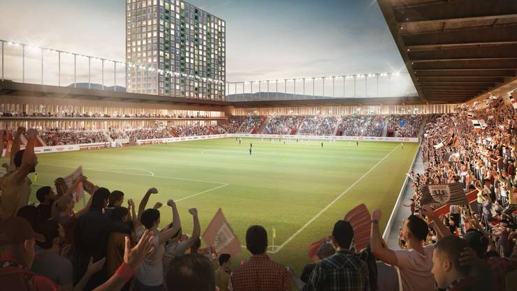 Die Stadion-Bauherrin HRS Real Estate AG hat eine neue Visualisierungen vom geplanten Hochhausquartier im Torfeld Süd veröffentlicht.