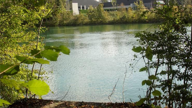 Geplanter Standort vom Steg vis-à-vis vom Zuchwiler Sportzentrum.