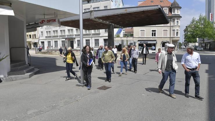 Ein Spaziergang durch das Zentrum Grenchens soll zeigen, wie sich ab den 50er-Jahren das Stadtbild des historischen Kerns verändert hat.