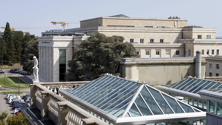 Genf ist Sitz vieler internationaler Organisationen und europäischer Hauptsitz der Uno. Das soll so bleiben, findet das Parlament. Es hat 112 Millionen Franken an Fördergeldern gesprochen. (Archivbild)