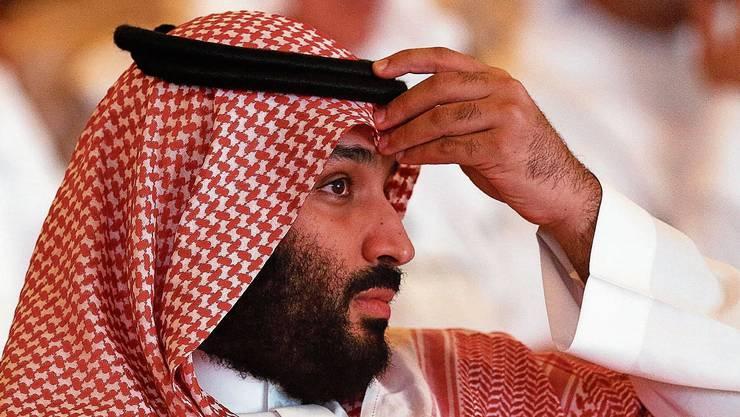 Immer stärker unter Druck: Der saudische Kronprinz Mohammed bin Salman.
