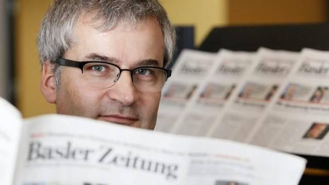 Markus Somm, der neue Chefredaktor der Basler Zeitung