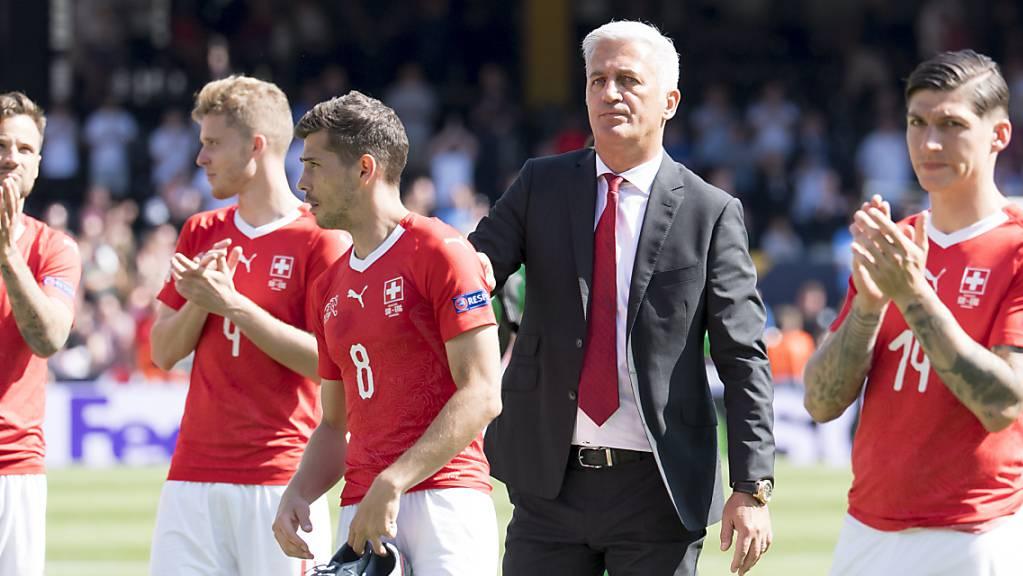 Die Fussball-Nati bestreitet in St. Gallen die ersten Heim-Länderspiele dieses Jahres
