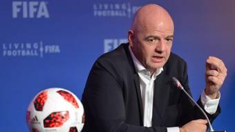 FIFA-Präsident Gianni Infantino kann sich nicht durchsetzen.