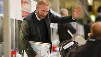 EHCO-Trainer Fredrik Söderström zeigt sich kämpferisch.