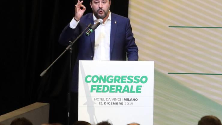 Zurück in die Regierung in Rom - das ist das Ziel von Lega-Chef Matteo Salvini.
