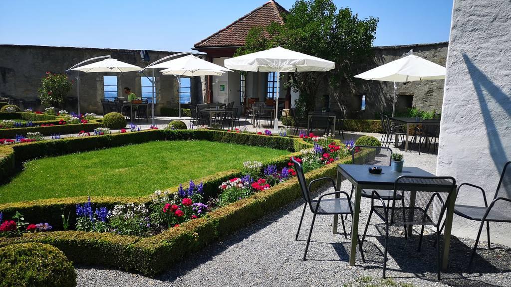 Schlosscafé im Schloss Lenzburg