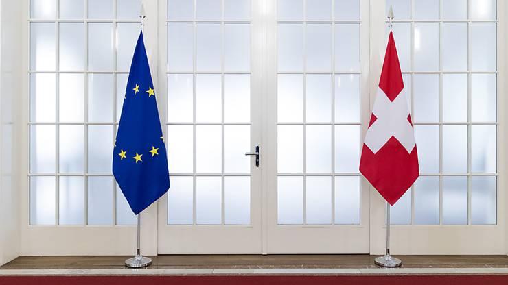 Fast fünf Jahre lang haben die Schweiz und die EU über ein Rahmenabkommen verhandelt. Jetzt liegt das Ergebnis auf dem Tisch. (Archivbild)