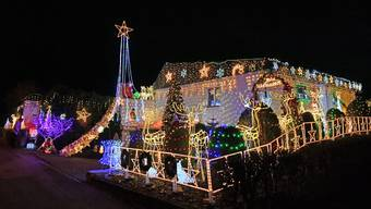 Weihnachtsbeleuchtung Gunzgen