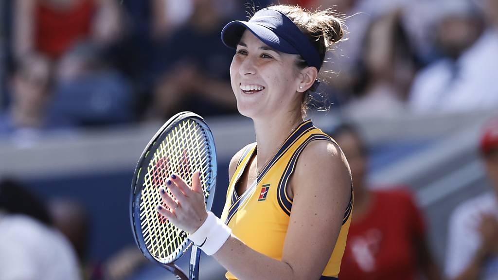 Belinda Bencic steht in den Viertelfinals