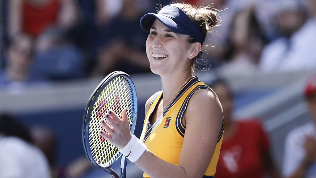 Belinda Bencic steht zum dritten Mal in einem US Open Viertelfinale.