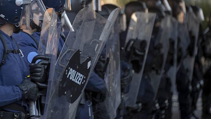 Die Polizei griff ein. (Archiv)