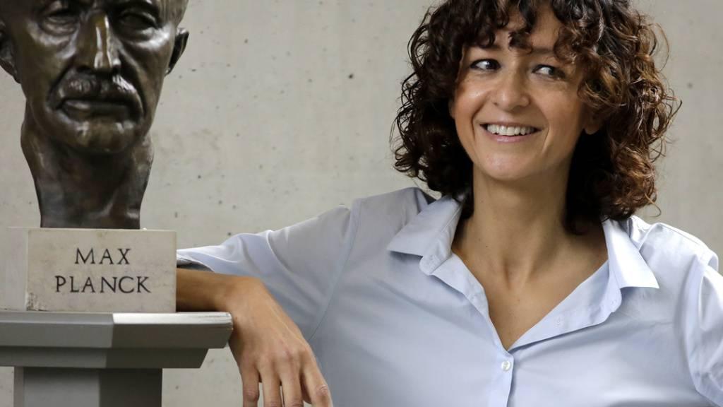 Mikrobiologin Emmanuelle Charpentier, der nüchterne Lockenkopf