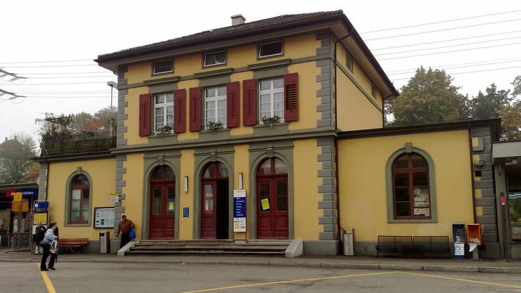 Der Bahnhof in Rheinfelden