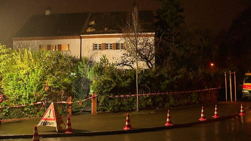 Brand in Winterthur: Frau und Hund tot - Mann in kritischem Zustand