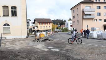 Die Schulzufahrt über den Gemeindehausplatz wurde sicherer gestaltet.