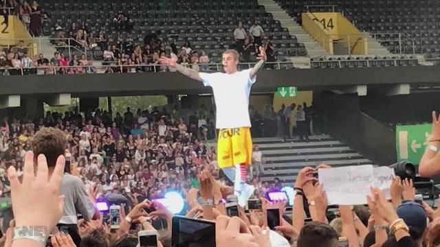 Bieber lässt Mädchenherzen höher schlagen