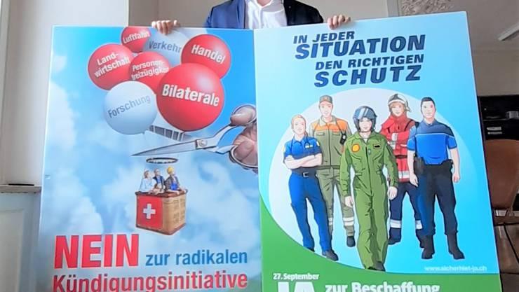 Stefan Huwyler, FDP-Grossrat aus Muri, ist Geschäftsführer der beiden überparteilichen Aargauer Komi