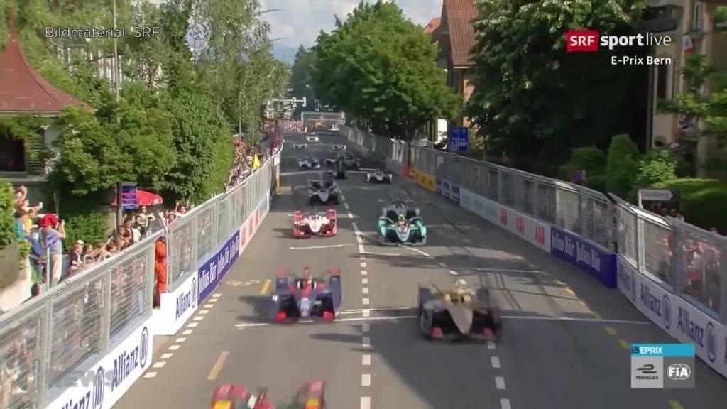 Bern im Formel-E-Fieber