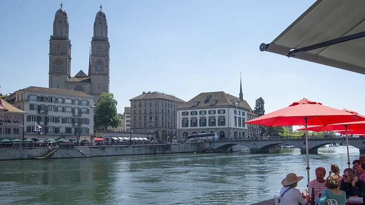 Die Stadt Zürich erfreut sich zunehmender Beliebtheit. (Symbolbild)