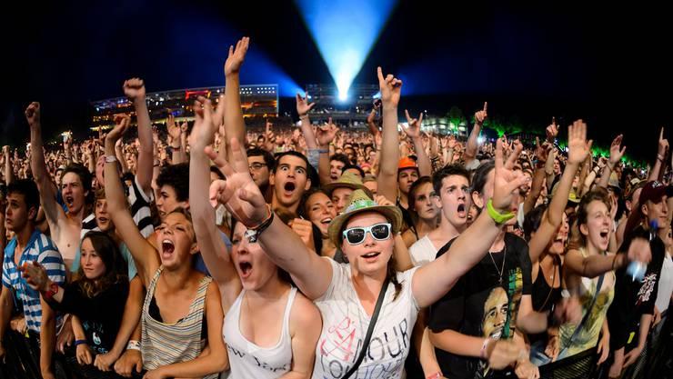 Top Acts am Genfersee: Das Westschweizer Paléo Festival lockte letztes Jahr 230000 Musikfans an.