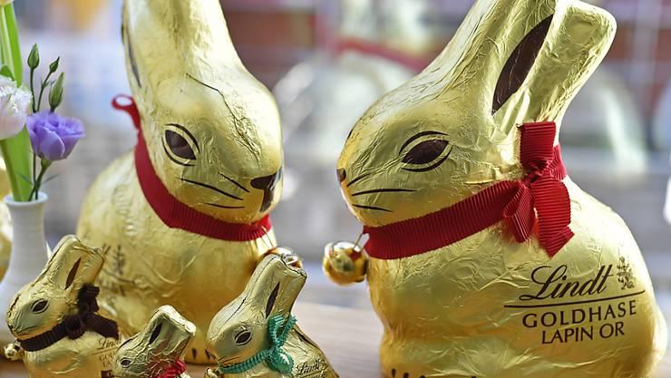 Die Schokoladenverkäufe von LIndt & Sprüngli leiden unter der Coronavirus-Krise. (Themenbild)