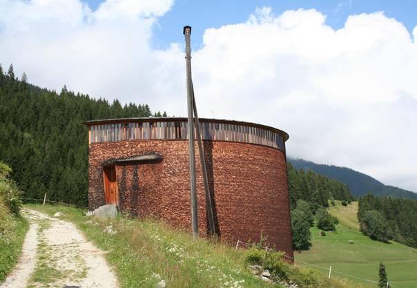 Caplutta Sogn Benedetg in Sumvitg, Graubünden, 1989