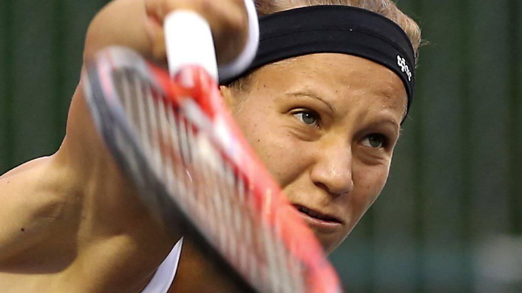 Schied in Guangzhou im Viertelfinal aus: Victoria Golubic