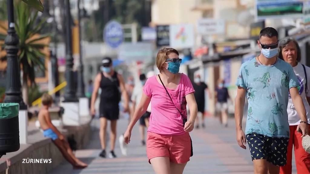 Spanien droht auf die Liste der Corona-Risikoländer zu kommen