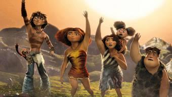 """Publikumsmagnet """"The Croods"""" - ein Animationsfilm über eine Steinzeitfamilie"""