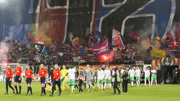 Nach der 2:3-Niederlage im Hinspiel kommt St. Etienne im Februar 2016 ins Joggeli