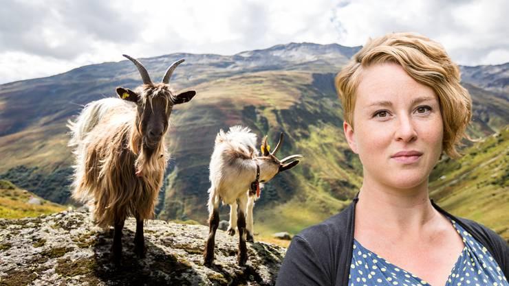 Die Aargauer Grüne-Nationalrätin fordert ein Enthornungsverbot für Ziegen.